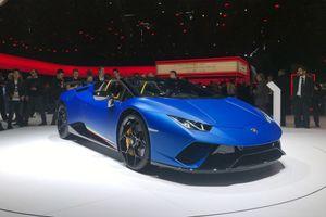 Lamborghini Huracan Performante Spyder 'siêu đẹp, siêu sang' ra mắt, giá bán 6,2 tỷ đồng