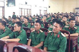 Công bố chỉ tiêu tuyển sinh các trường quân đội năm 2018