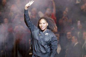 Serena Williams 'tái xuất' mừng quốc tế phụ nữ
