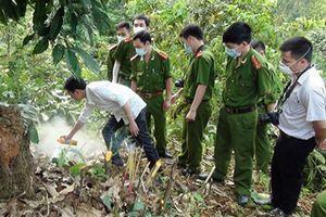 Công an xác định nghi can vụ 2 cha con bị sát hại trong rừng như thế nào?