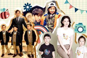 'Đứng ngồi không yên' với hình ảnh đáng yêu của loạt nhóc tì nổi tiếng nhà sao Hàn