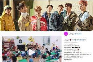 Clip học sinh mẫu giáo Việt Nam hát theo 'Love Scenario' được chính iKON chia sẻ