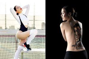 Hai hot girl Việt 'đại chiến kịch liệt' vì AC Milan - Arsenal