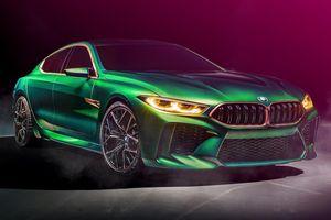 BMW Concept M8 Gran Coupe - Mercedes-AMG GT 4 cửa nên dè chừng
