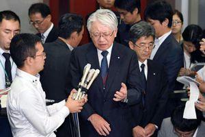 Chủ tịch tập đoàn Kobe Steel từ chức