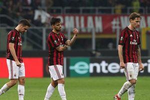 Europa League: AC Milan và Dortmund đối mặt nguy cơ bị loại