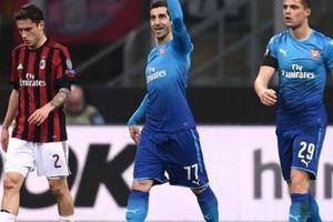 Kết quả lượt đi vòng 1/8 Europa League: Arsenal thắng thuyết phục