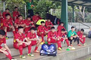 Hòa đội bóng Nhật Bản, U16 Việt Nam đứng nhất bảng