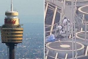 Úc: Leo lên tháp cao 270m, gỡ dây an toàn rồi gieo mình xuống đất
