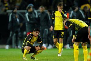Dortmund thua mất mặt ngay tại sân nhà