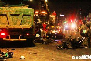 Khởi tố tài xế xe ben tông 6 người thương vong ở Sài Gòn