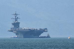 Những hình ảnh ấn tượng trong chuyến thăm Việt Nam của tàu sân bay USS Carl Vinson