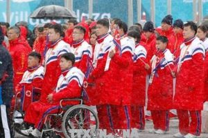 Paralympic PyeongChang 2018: Hàn Quốc thông qua khoản ngân sách hỗ trợ đoàn Triều Tiên tham dự