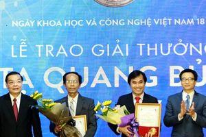 Nhiều hồ sơ khoa học đăng ký xét tặng Giải thưởng Tạ Quang Bửu
