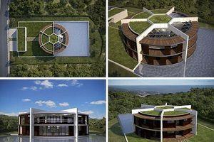 Ngắm ngôi nhà đậm chất sân cỏ của ngôi sao Messi