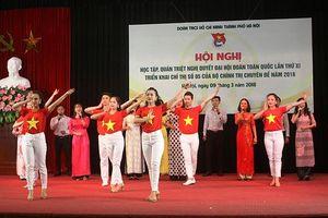 Tuổi trẻ Thủ đô học tập Nghị quyết Đại hội Đoàn toàn quốc XI