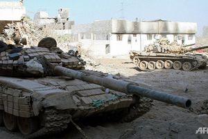 Xe tăng Syria nghiền nát quân thánh chiến tại tử địa Đông Ghouta