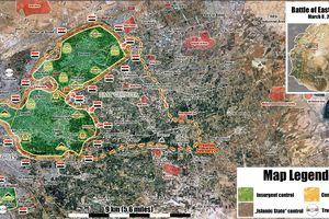 'Hổ Syria' tiên phong đoạt một nửa sào huyệt thánh chiến Đông Ghouta