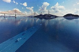 Quảng Ninh dự định chi 8.000 tỷ làm hầm vượt biển dài 2 km