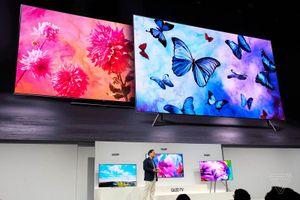 Samsung ra mắt thế thế hệ TV QLED 2018 tại New York