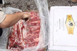 Thu giữ gần 200 tấn thịt trâu không rõ nguồn gốc