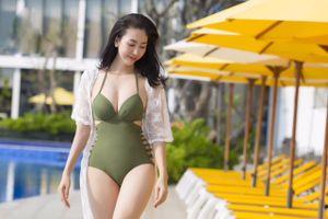 'Hoa hậu ngành thiết kế' khoe vòng eo 56 cm
