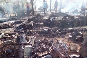 Hỏa hoạn thiêu rụi nhà vì sử dụng gas bất cẩn