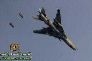Su-22M4 Syria được trang bị gì khi không kích Đông Ghouta?