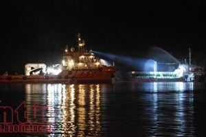 Khẩn trương điều tra vụ cháy nghiêm trọng tàu chở dầu Hải Hà 18