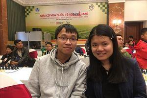 Vợ chồng kỳ thủ Trường Sơn -Thảo Nguyên quyết giành top đầu giải cờ vua HDBank