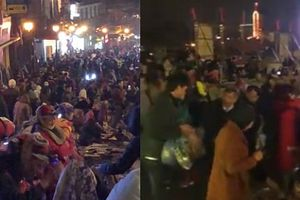 Clip: Sa Pa 'hóa' phố, nửa đêm cuối tuần người đông như chợ đêm Hà Nội