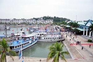 Chìm tàu du lịch tại Cảng tàu khách quốc tế Tuần Châu