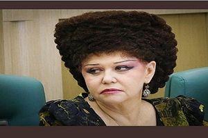 Nữ nghị sĩ có kiểu tóc 'độc nhất vô nhị'