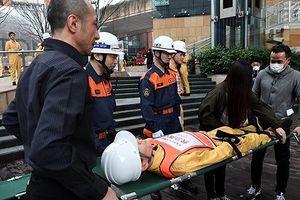 Nhật Bản diễn tập đối phó thảm họa nhân tưởng nhiệm 7 năm động đất sóng thần