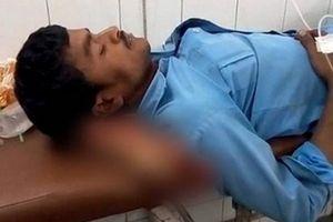 Phẫn nộ cảnh bệnh nhân phải gối đầu lên bàn chân bị đứt rời