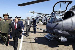 Trực thăng chở Tổng thống Nga Vladimir Putin từng bị tấn công