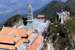 Khám phá những tinh hoa kiến trúc tâm linh Việt hội tụ trên đỉnh Fansipan