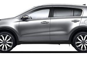 Lộ diện Kia Sportage phiên bản mới 'đẹp long lanh' giá 741 triệu đồng