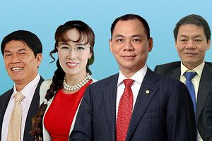 Điểm chung ít biết về 4 tỷ phú USD Việt Nam