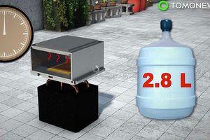 'Vắt' nước từ không khí bằng năng lượng mặt trời