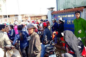 Gia Lai: Người dân bao vây Công ty thu mua nông sản do nghi vỡ nợ