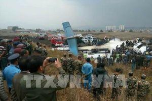 Vụ tai nạn máy bay tại Nepal: Ít nhất 40 người thiệt mạng