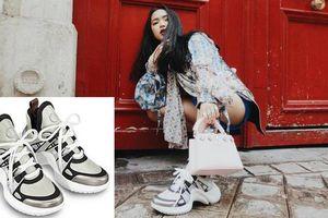 Bắt trend, Châu Bùi vừa tậu sneakers 'ông già' hơn 20 triệu khiến cộng đồng streetwear xốn xang