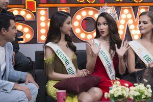 Phản ứng bất ngờ của Hương Giang khi bị 'tố' mua giải hoa hậu ngay trên sóng truyền hình Thái