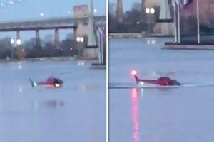 Trực thăng lao xuống sông ở New York, ít nhất 2 người chết, 3 người nguy kịch
