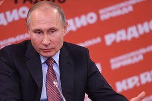 Trực thăng chở Tổng thống Vladimir Putin bị bắn ở Chechnya vào đêm giao thừa