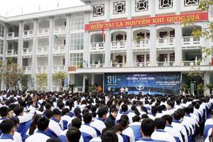 Hà Giang phát động Giờ trái đất tại trường THPT Chuyên Hà Giang