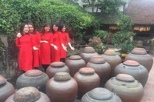 'Lạc lối' ở Làng cổ Đường Lâm