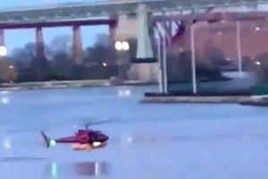 Trực thăng Mỹ rơi xuống sông, 2 người chết
