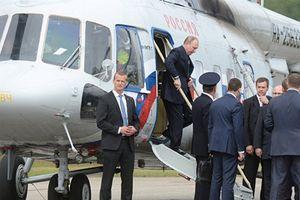 Trực thăng chở Tổng thống Putin từng bị bắn ở Chechnya